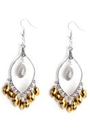 www.snowfall-beads.be - DoubleBeads Creation Mini sieradenpakket oorbellen met glas druppels - DE00233