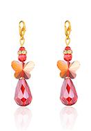 www.snowfall-beads.be - EasyCharm hangers engel met slotje 54x15mm - J09258